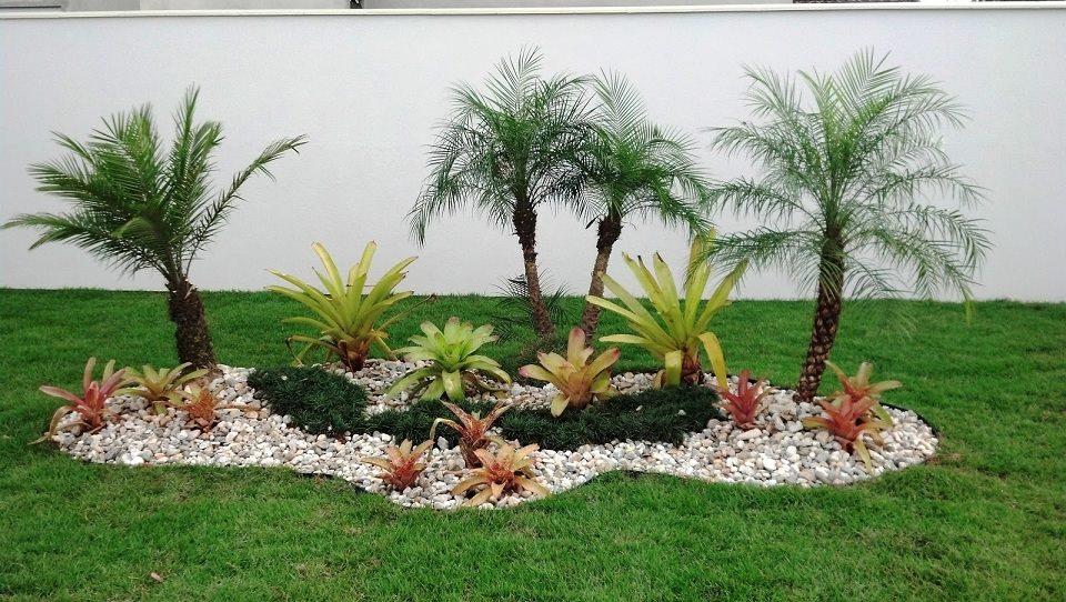 Construindo minha casa clean jardim simples e bonito for Casas e jardins simples