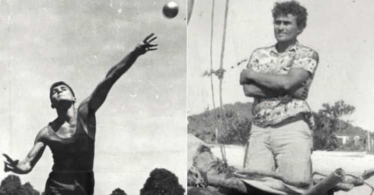 Aslında eski bir sporcuydu ve ünlü sayılabilecek kadar tanınan biriydi.