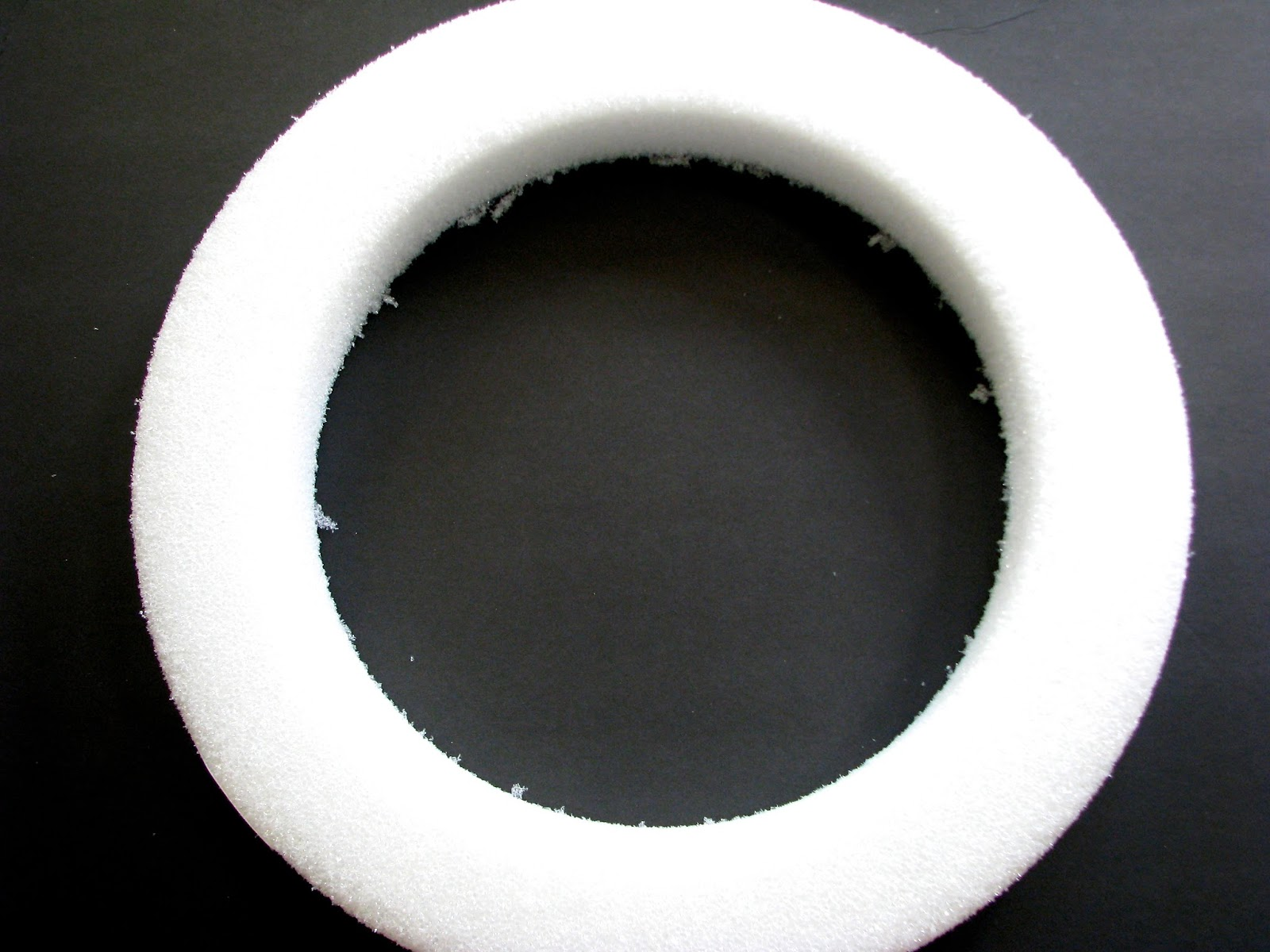 Styrofoam Wreath form