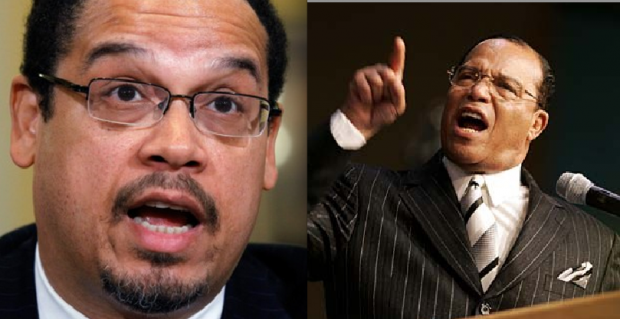 FINALLY: Anti-Defamation League Calls Keith Ellison's Adoration of Jew-Hater Louis Farrakhan 'Disqualifying' to Lead DNC