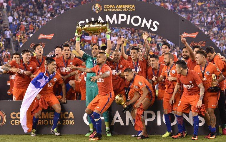 Chile se impone sobre Argentina y es Bicampeón de la Copa América Centenario