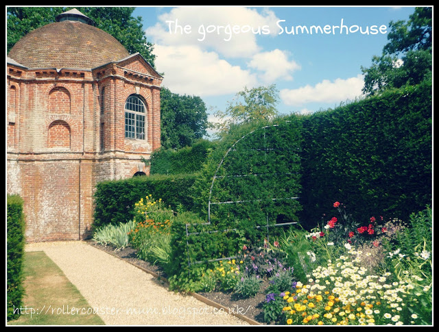 Summerhouse and garden, the Vyne, National Trust