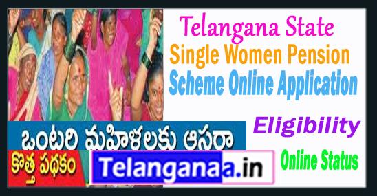 Pension Scheme for Single Women in Telangana