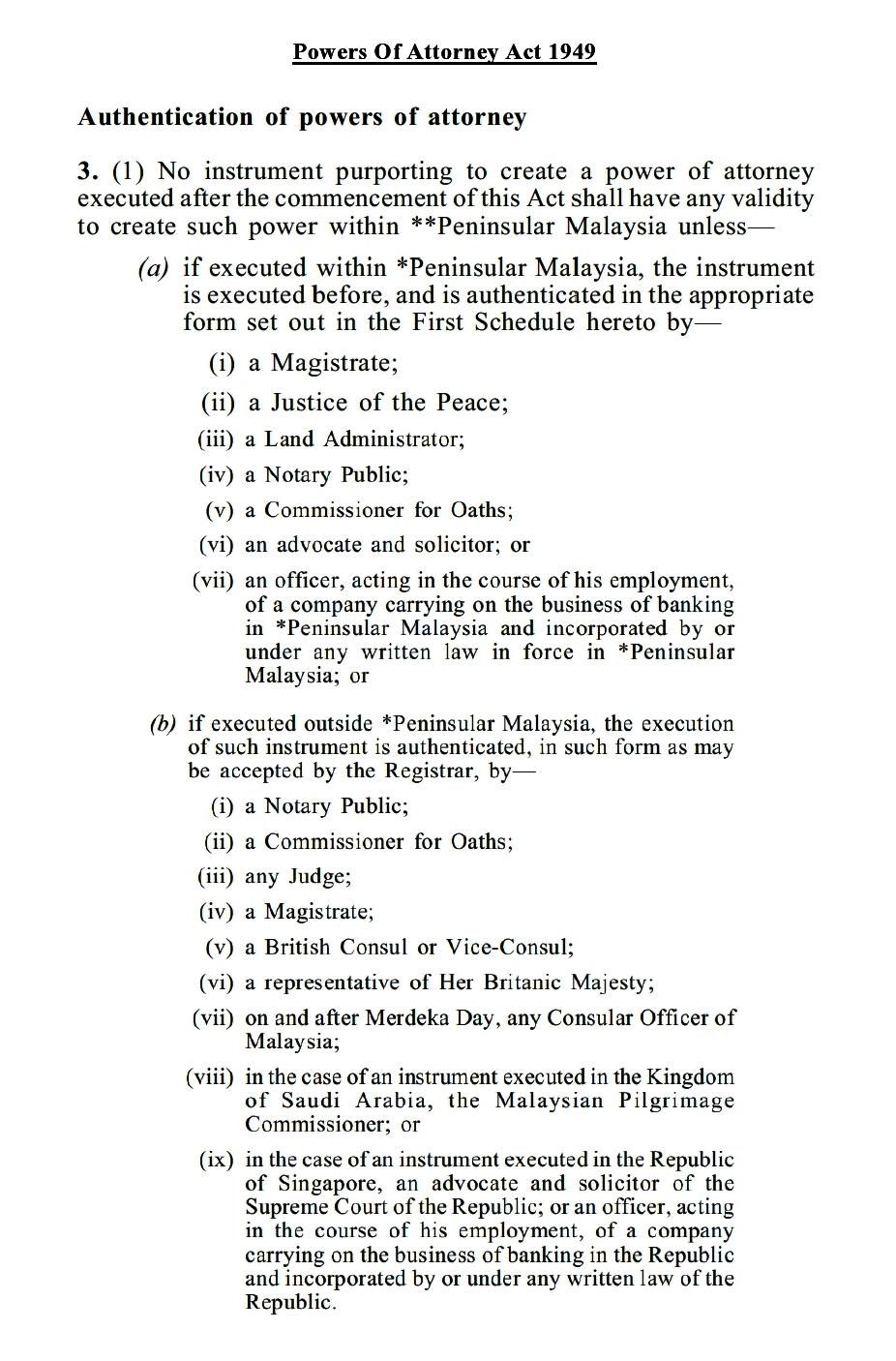 Commissioner For Oaths / Pesuruhjaya Sumpah: Moneylenders, Hire ...