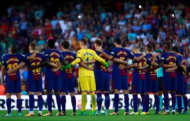 Barcelona squad to face Valladolid revealed
