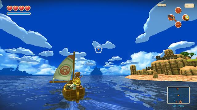 Oceanhorn: Monster of Uncharted Captura 2