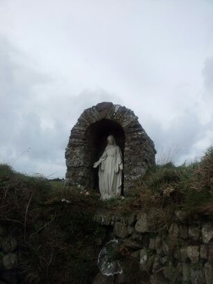 St Saint Non's Chapel Bay Well Shrine Pembrokeshire