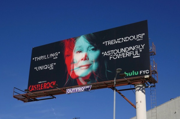 Castle Rock Sissy Spacek For your consideration billboard