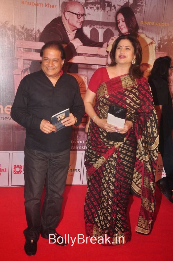 Anup Jalota and Kunika, Elli Avram, Esha Gupta Hot Pics At Opening for Anupam Kher Neena Gupta Play