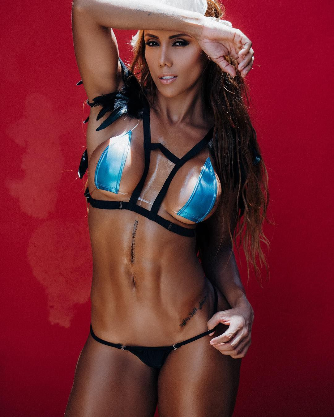 Fitness Model Female Sonia Isaza