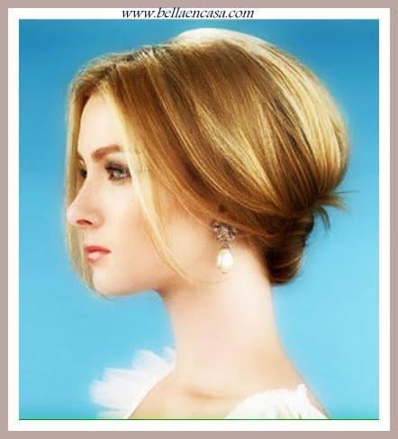Peinados para pelo corto para gala