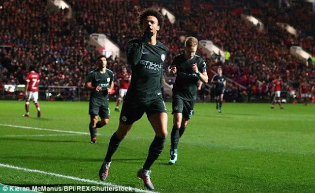 """Bristol - Man City: Rượt đuổi 5 bàn siêu """"điên rồ"""""""