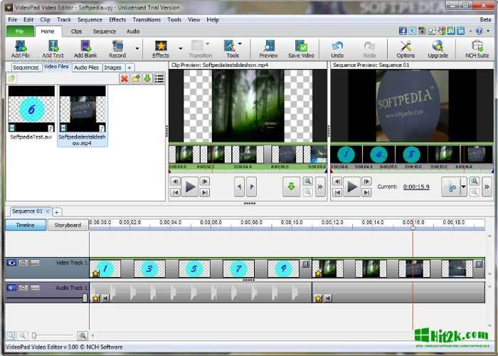 VideoPad Video Editor Professional 4.56 Full Version Here!