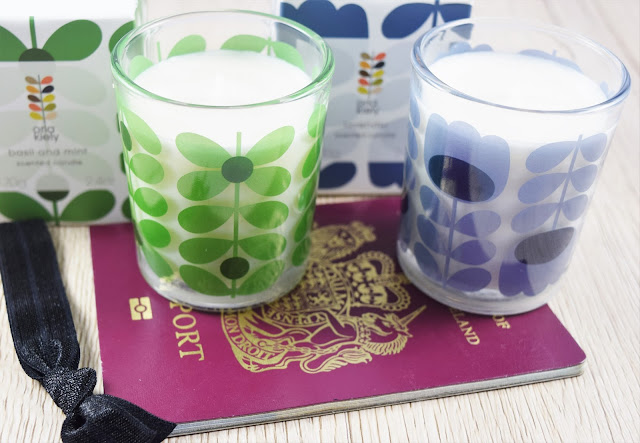Orla Kiely Travel Candles