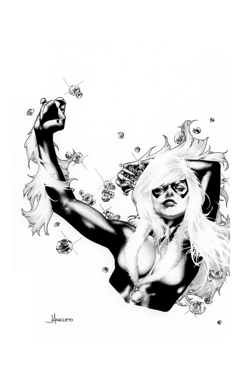 Marvel Comics of the 1980s: Black Cat by Jay Anacleto