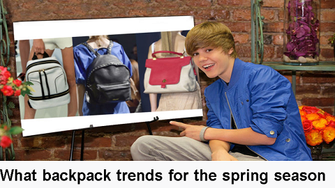 what backpack trends for the spring season?