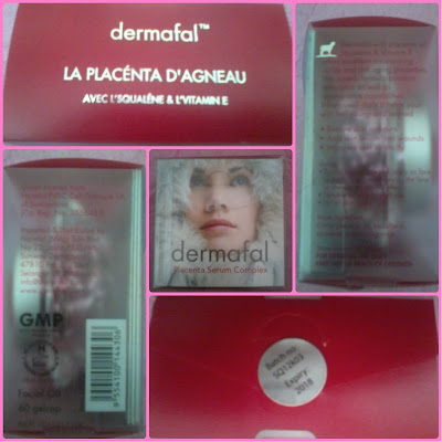 DERMAFAL PLACENTA SERUM COMPLEX WITH SQUALENE&VITAMIN E