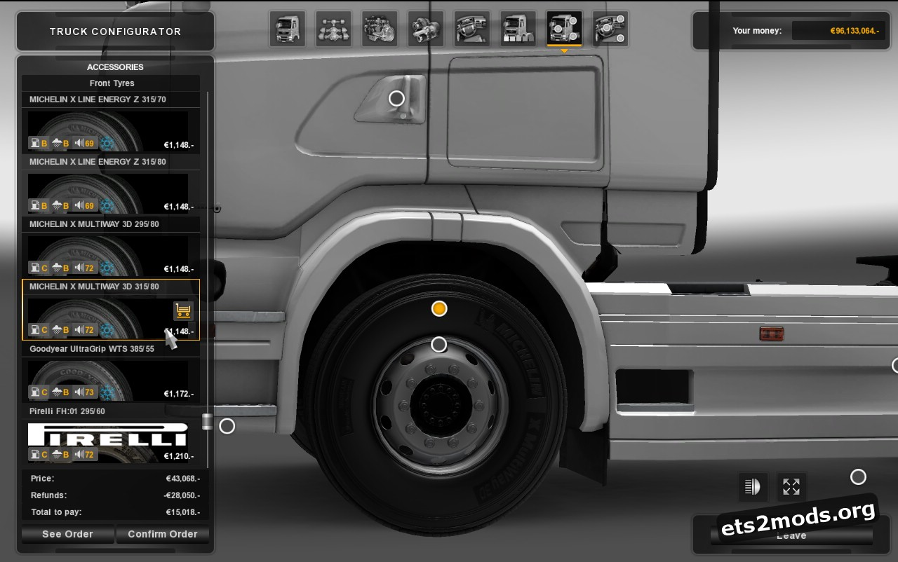 Real Tires Pack V 5.3
