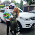 E-money surprises his wife with a 2016 customised Range Rover Sport for Christmas (Photos)