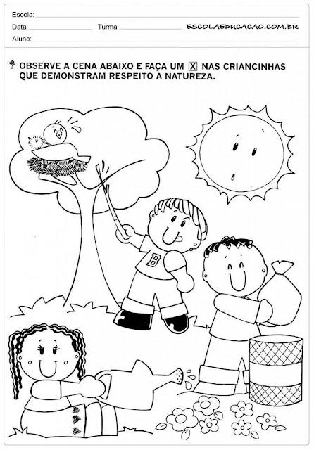 70 Atividades De Meio Ambiente Para Educacao Infantil Como Fazer