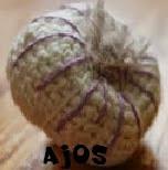 http://patronesamigurumis.blogspot.com.es/2015/01/patrones-ajos.html
