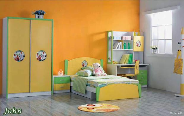 Kids Bedroom Color Design Ideas