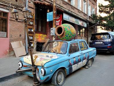 Tbilisi zwiedzanie miasta