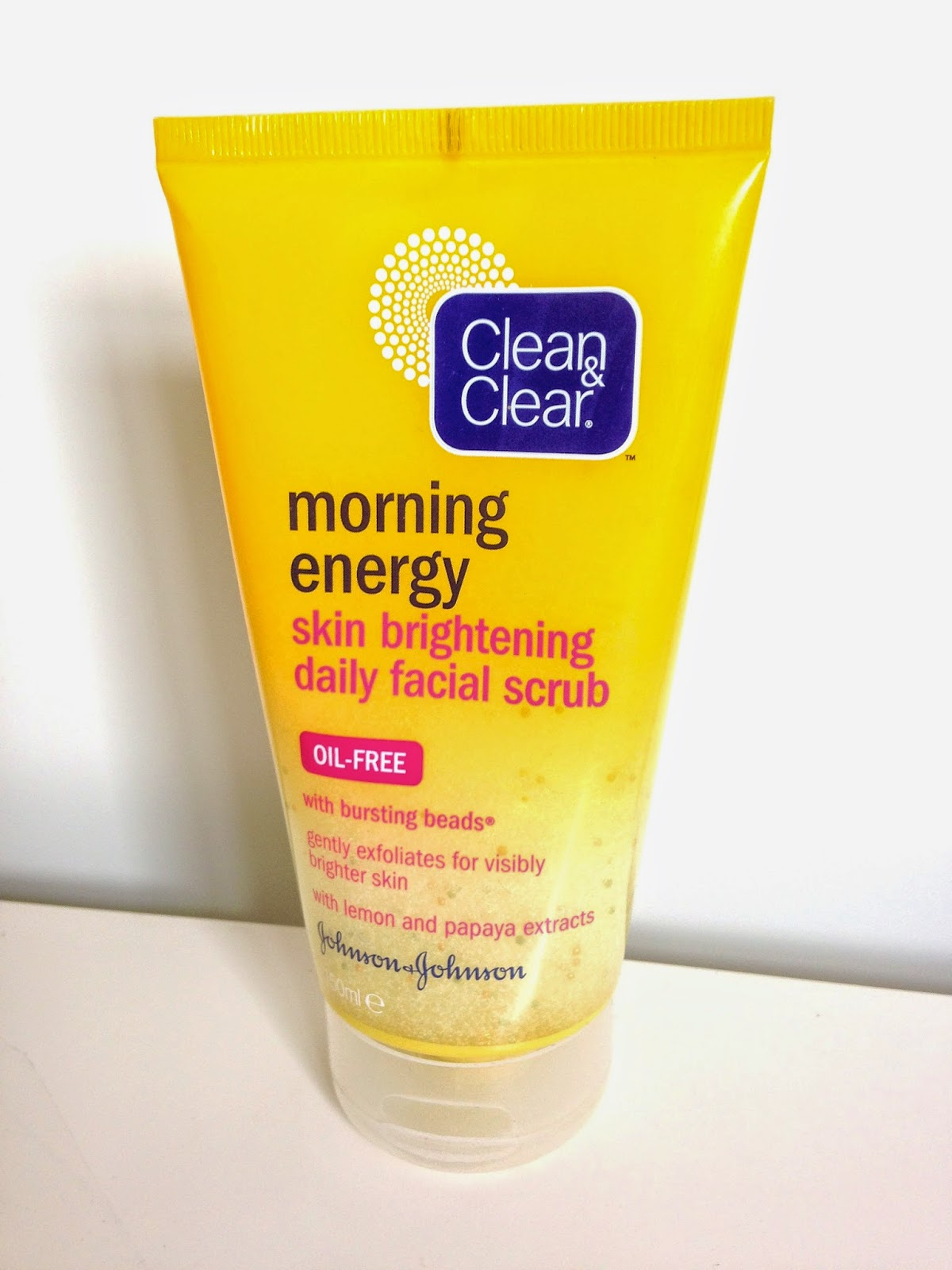 Image of Clean & Clear Morning Energy Skin Brightening Daily Facial Scrub