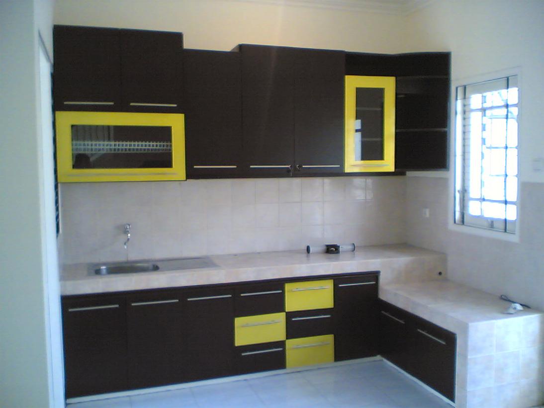 Interior Dapur Kecil Malaysia