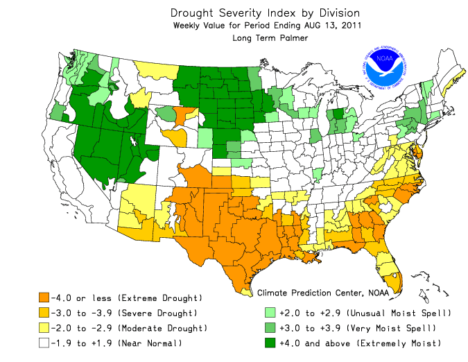 Early Warning: Texas Drought Now Equals Worst in History on texas energy map, texas disease map, texas stream map, texas climate map, texas drainage map, texas coastal management map, the woodlands texas faultlines map, texas light map, texas cold front map, texas tsunami map, texas migration map, texas ozone map, texas fall color map, texas wildfires, texas highway 16 map, texas blizzard map, texas arizona new mexico map, plant native texas regions map, texas record cold map, texas air mass map,