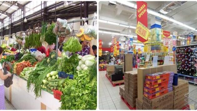 Penyebab Pasar Tradisional Kalah Bersaing dengan Ritel Modern