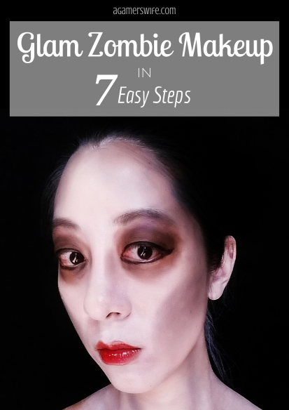 Glam Zombie Makeup in 7 Easy Steps