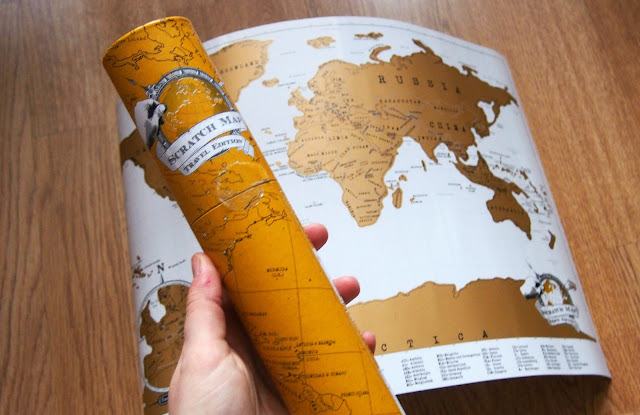 Scratch map and tube