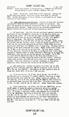 Operational Report of HQ - Period Ending April, 10, 1969 (Pg 27) (5-15-1969)