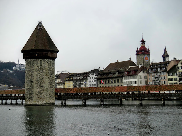 Long Winter Weekend Lucerne Switzerland - The Chapel Bridge