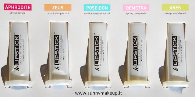 K-Lipstick. Profumi per auto personalizzati.