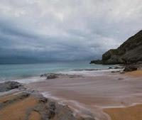 Playa de Tagle, Suances cerca de Santillana del Mar