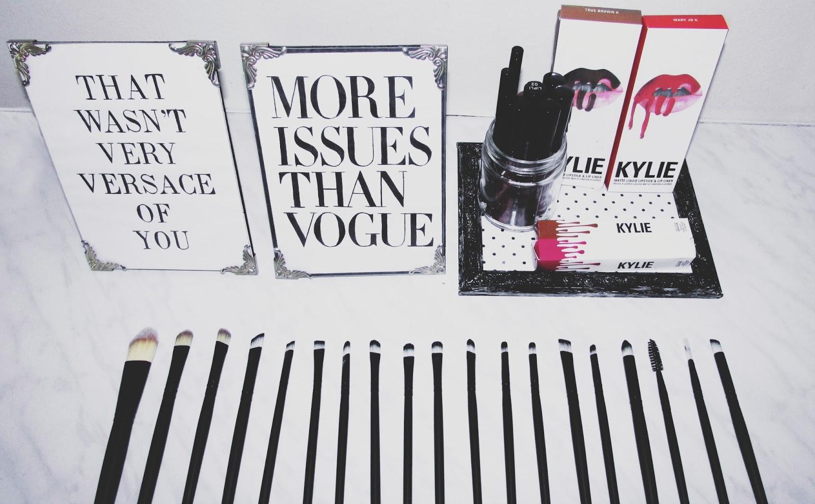 dresslink makeup brushes review