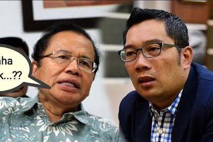 "Ekonom senior Dr. Rizal Ramli Sindir Ridwan Kamil yang Sibuk Kampanye: ""Kumaha Nyak"""