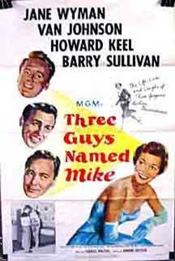Three Guys Named Mike (1951)