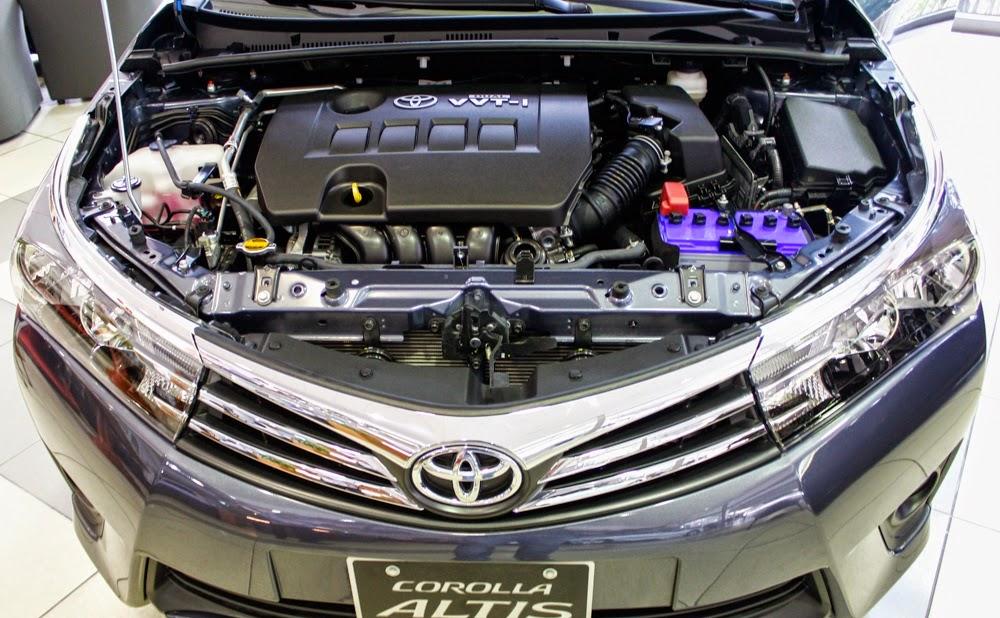 Cỗ máy Dual VVT-I được trang bị trên Corolla Altis 1.8G CVT