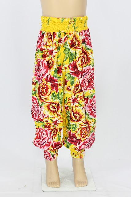 Celana Aladin Anak Motif Bunga Murah Terbaru 2016