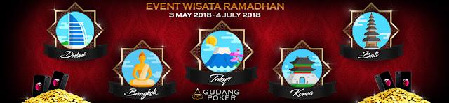 Event Berhadiah Wisata Ramadhan Gudangpoker