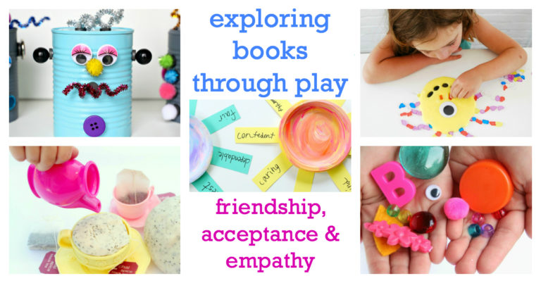 Books and activities about empathy, love, friendship for kids