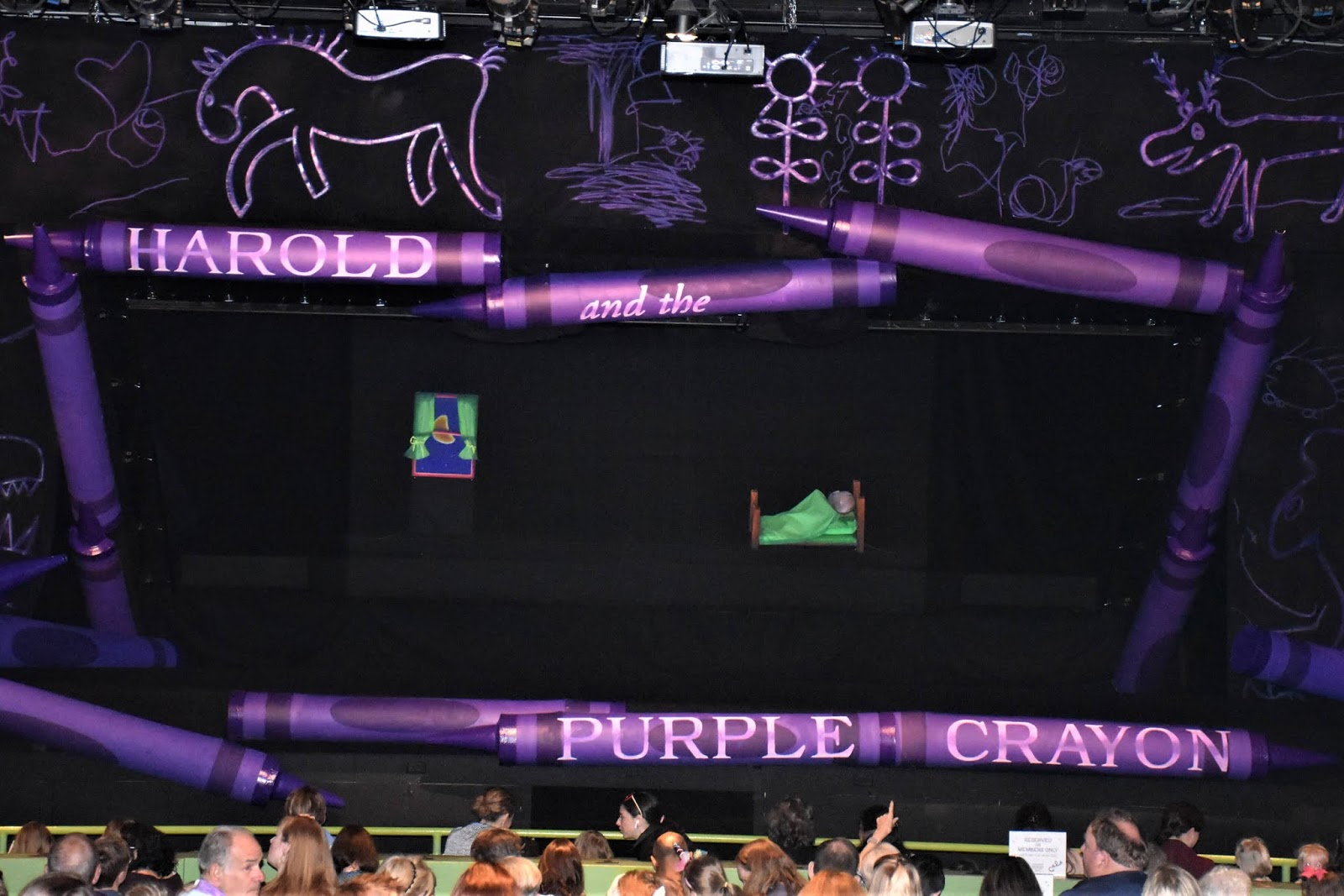 Now Playing: Harold and the Purple Crayon at Center for Puppetry Arts
