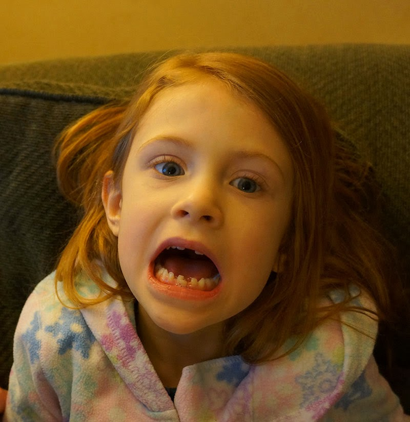 Field Of Heather: Ayla Lost Her First Tooth! Or Should I