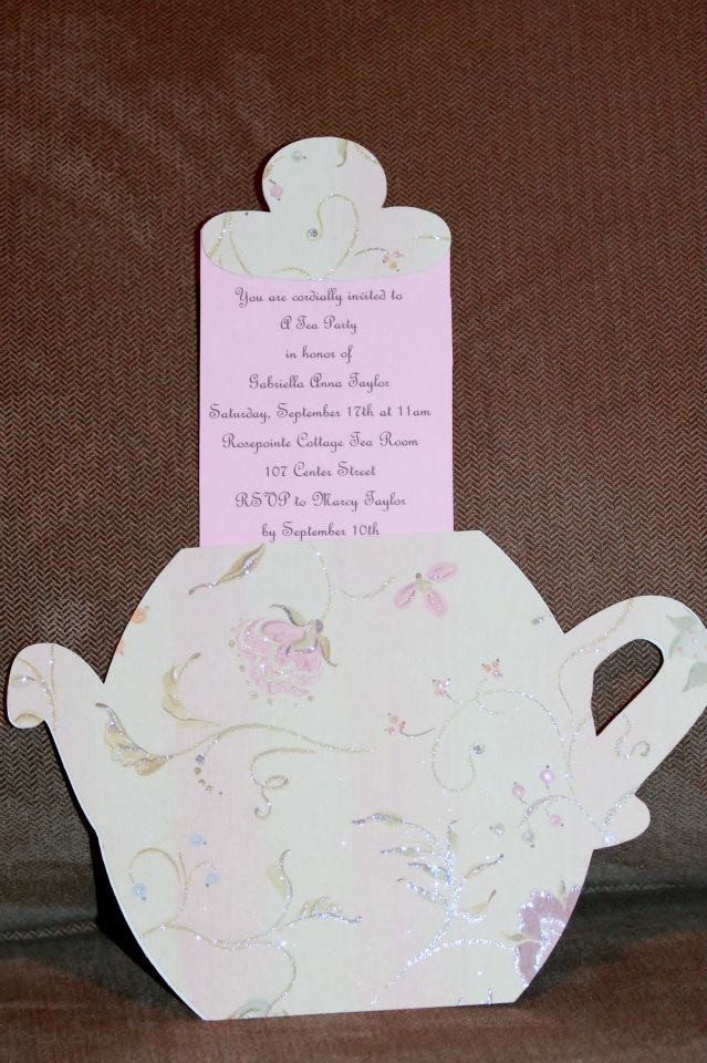 A Little Girl S Tea Party Birthday Celebrate Every Day