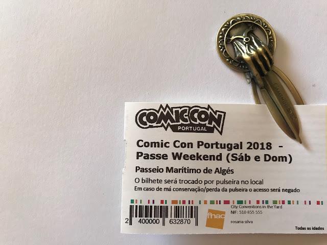 A miúda vai à Comic Con Portugal!