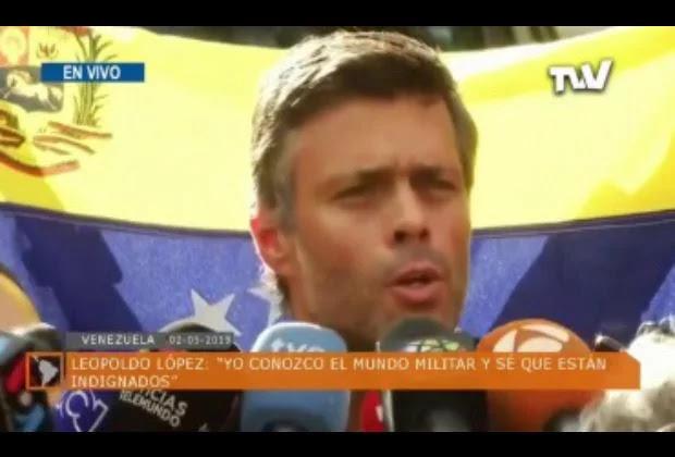 Leopoldo López: Mi posición no compromete al gobierno español