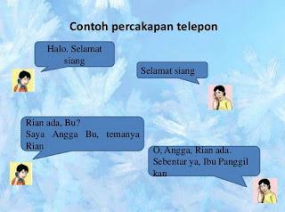 Etika Bertelpon dan Contoh Percakapan Lewat Telepon